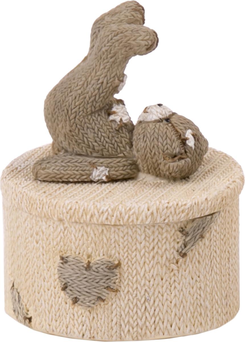 Шкатулка Magic Home Медвежонок-гимнаст. 7665076650Шкатулка декоративная от Magic Home - это отличный вариант подарка для ваших близких и друзей. Она станет прекрасным дополнением любого интерьера.