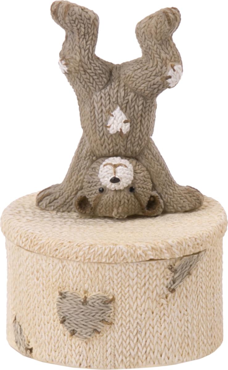 Шкатулка Magic Home Медвежонок-акробат. 76652 шкатулки magic home шкатулка дождь в париже