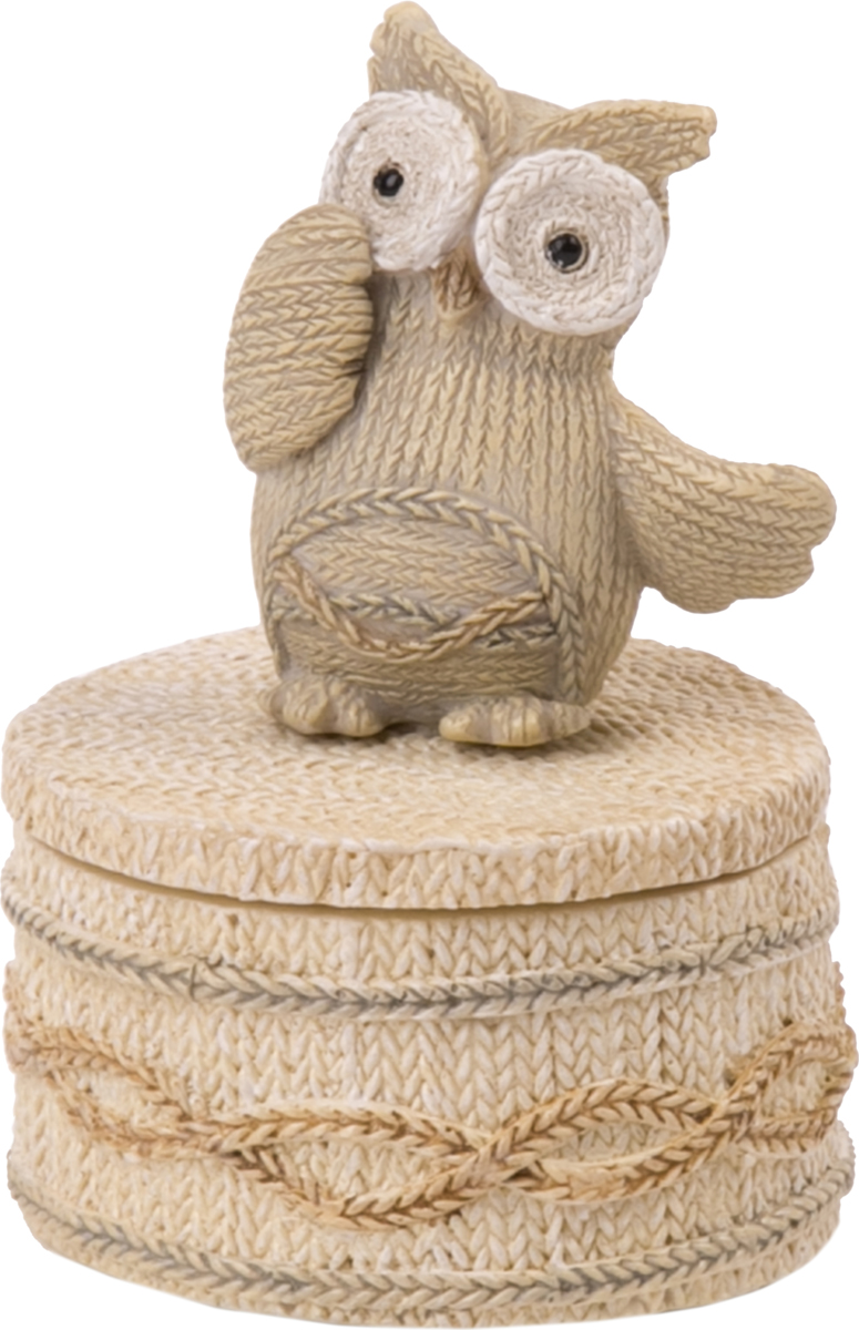 Шкатулка Magic Home Застенчивая сова. 76653 шкатулки magic home шкатулка дождь в париже