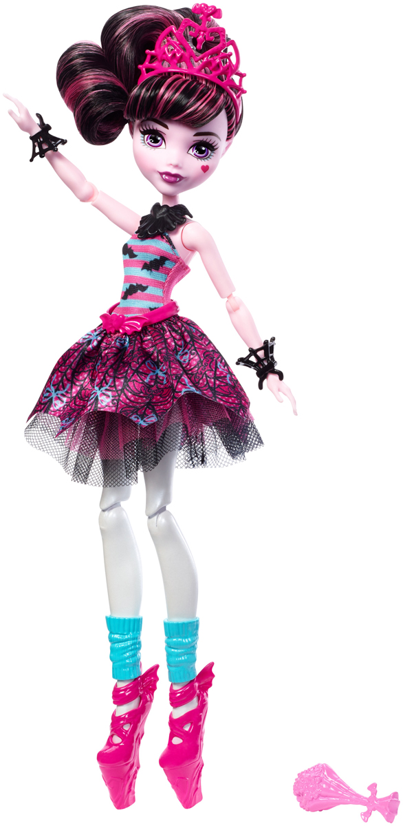 Monster High Кукла Монстряшки-балерины Draculaura FKP60_FKP61