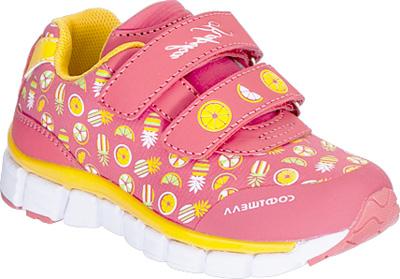 Кроссовки для девочки Kapika, цвет: коралловый. 71093с-2. Размер 2371093с-2