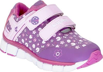 Кроссовки для девочки Kapika, цвет: сиреневый. 71100с-2. Размер 2771100с-2
