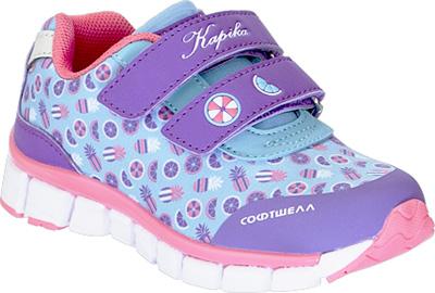 Кроссовки для девочки Kapika, цвет: фиолетовый. 71093с-1. Размер 2271093с-1