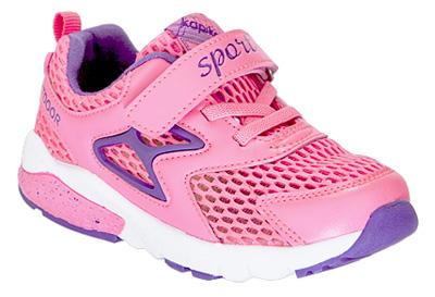 Кроссовки для девочки Kapika, цвет: фуксия. 71092-2. Размер 2971092-2