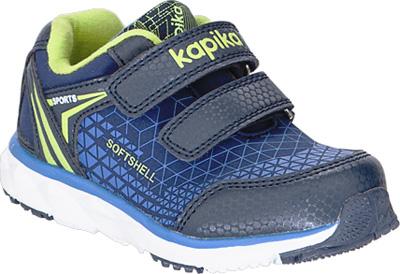 Кроссовки для мальчика Kapika, цвет: темно-синий. 71063с-1. Размер 2371063с-1Модные кроссовки для мальчика от Kapika выполнены из текстиля и искусственной кожи. Подкладка из текстиля не натирает. Стелька из натуральной кожи комфортна при движении. Ремешки с застежками-липучками надежно зафиксируют модель на ноге. Подошва дополнена рифлением.