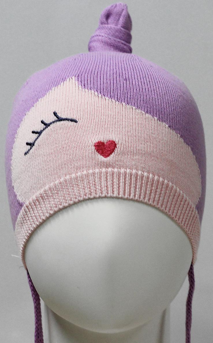 Фото - Шапка для девочки Marhatter, цвет: сиреневый. MDH7263. Размер 46/48 шапка для девочки marhatter цвет розовый mdh7263 размер 46 48