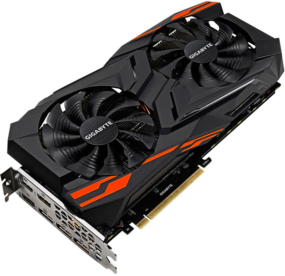 Gigabyte Radeon RX Vega 56 Gaming OC 8GB видеокартаGV-RXVEGA56GAMING OC-8GDГрафическая карта Gigabyte Radeon RX Vega 56 Gaming OC разработана специально для экстремальных геймеров,кто стремится к высочайшей производительности в играх на максимальных разрешениях с самым высоким FPS,поддержкой передовых технологий и заделом на будущее.Gigabyte представляет систему охлаждения Windforce, передовую систему охлаждения, которая позволяетвыделить продукцию Gigabyte на фоне остальных производителей. Компания Gigabyte понимает, что вентилятор, атак же охлаждение карты играют решающую роль, поэтому выбран наиболее эффективный вентилятор длясистемы охлаждения Windforce.Опыт погружения VRИспытайте следующий уровень погружения в мир игр и развлечений VR с видеокартой Radeon RX на базереволюционной архитектуры Polaris.Технология AMD FreeSyncНастанет конец прерывистому геймплею, без артефактов при практически любой частоте кадров.Совместимость с HDRУсиленный контраст и цвета создают поразительно резкий, красочный и яркий визуальный эффект.