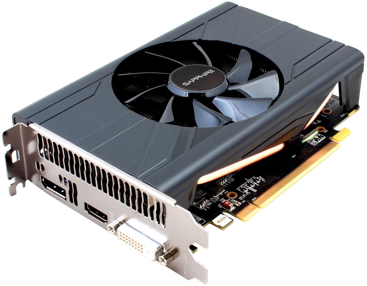 Sapphire Pulse ITX Radeon RX 570 4GB видеокарта11266-34-20GSapphire Pulse ITX Radeon RX 570 - игровая видеокарта с эффективной системой охлаждения.Вентилятор поддерживает систему Quick Connect. Это значит, что его можно с легкостью снять, очистить изаменить, поскольку они надежно фиксируются всего одним винтом, и разбирать кожух или иные элементывидеокарты не потребуется.Вентилятор оснащен двойными шарикоподшипниками, который имеет на 85% больший ресурс по сравнению свентиляторами на подшипниках скольжения. Усовершенствованная форма лопастей позволяет уменьшить шум на10% по сравнению с вентиляторами предыдущего поколения.Технология Frame Rate Target Control (FRTC) позволяет настраивать количество кадров в секунду в реальномвремени. Эта функция уменьшает потребление графического процессора (полезно для игр, в которых частотакадров намного превышает частоту обновления дисплея), соответственно уменьшая тепловыделение и оборотывентилятора, что дополнительно уменьшает шум видеокарты.AMD FreeSync использует использует возможности стандартного протокола DisplayPort Adaptive-Sync дляполучения плавной смены кадров на мониторе без артефактов и задержек с максимально возможнойпроизводительностью и комфортом.Поддержка расширенного динамического диапазона (High Dynamic Range, HDR) - настоящая находка для игроманови киноманов, которые по-настоящему ценят качество изображения. Эта технология позволяет увеличитьдиапазон оттенков и контраст на совместимых дисплеях.