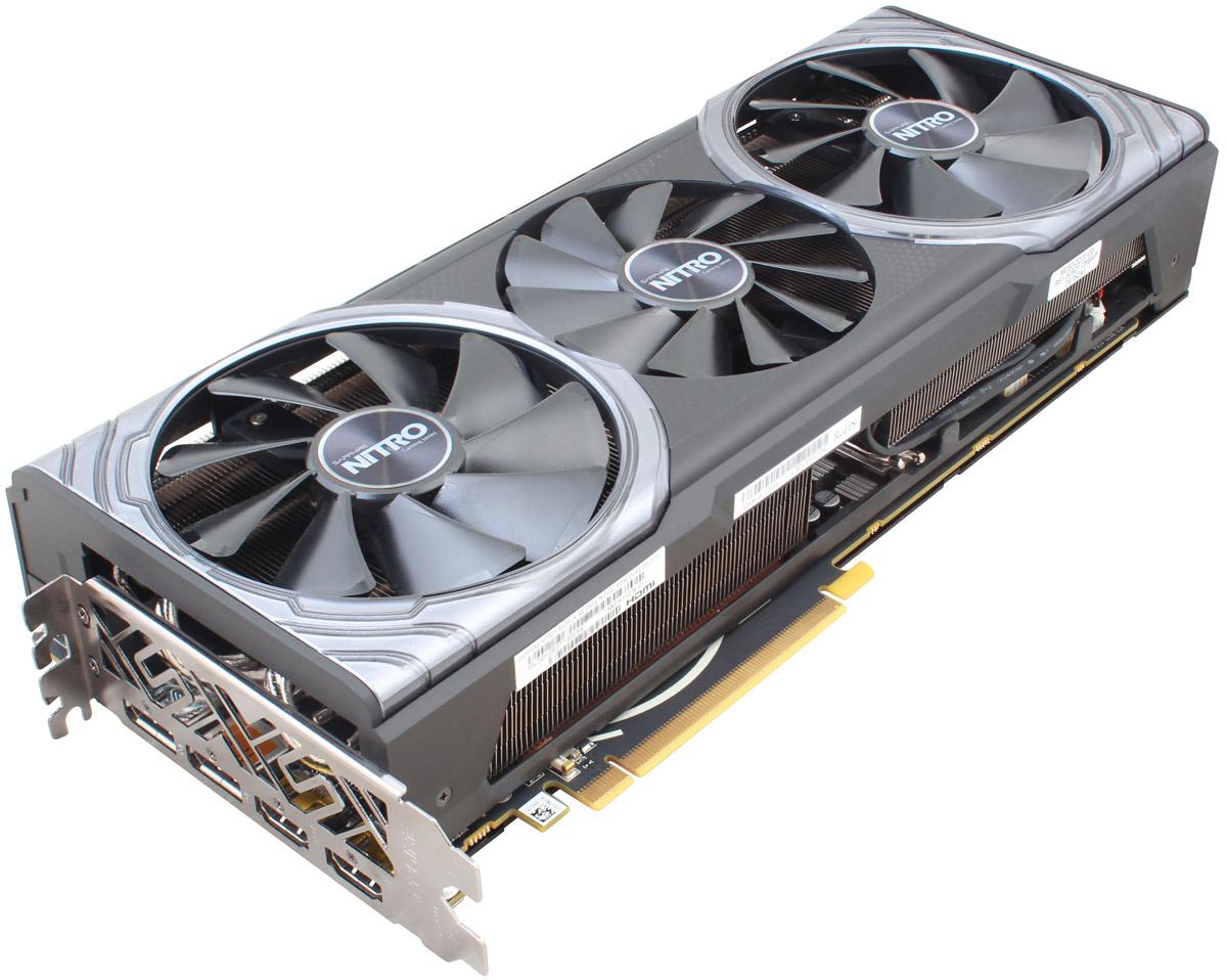 Sapphire Nitro+ Radeon RX Vega 56 HBM2 8GB видеокарта видеокарта для компьютера в благовещенске