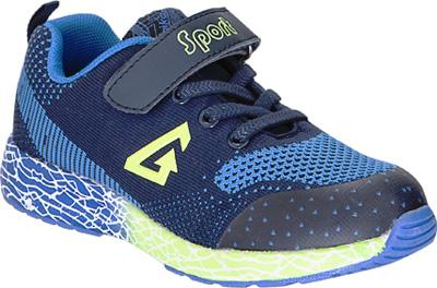 Кроссовки для мальчика Kapika, цвет: темно-синий. 74216-1. Размер 3674216-1