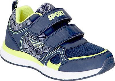 Кроссовки для мальчика Kapika, цвет: темно-синий . 73350-1. Размер 3473350-1