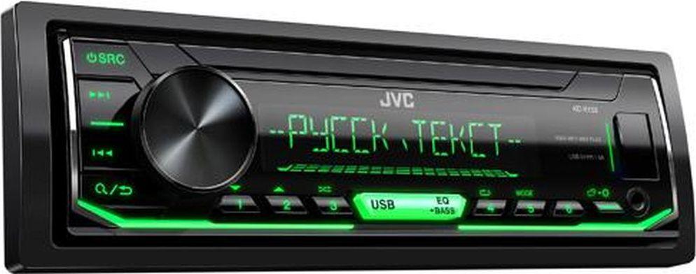 JVC KD-X153 автомагнитолаKD-X153USB with 1A Charge for Smartphone 1 RCA Preout, 2.5V (Rear/Sub Switchable) 15 предустановок эквалайзера Green key Illumination Функция Digital Track Expander Воспроизведение музыки с Android (AUDIO MODE и AUTO MODE) Unit without CD mechanism Поддержка FLAC (до 16бит/48кГц) Поддерживает дистанционное управление на руле MP3 / WMA / WAV Compatible Short chassis (100mm)