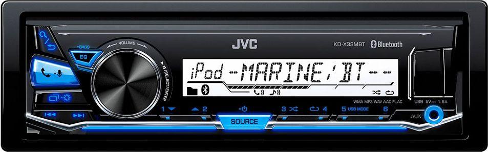 JVC KD-X33MBTавтомагнитола JVC