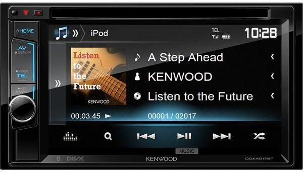 Купить Kenwood DDX-4017BTR автомагнитола