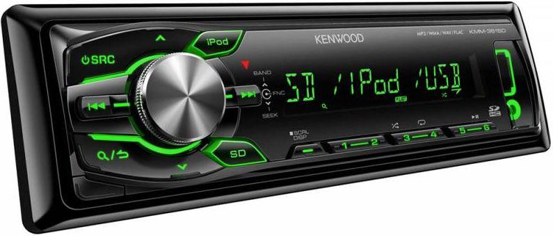 Kenwood KMM-361SDED автомагнитолаKMM-361SDEDУкороченный корпус, бездисковый USB-ресивер13-символьный ЖК-дисплейИзменяемый цвет подсветки Встроенный слот для чтения карт памяти HC SDРазъемы USB и AUX на передней панели2 RCA линейных выходаВоспроизведение файлов форматов FLAC/MP3/WMA/WAVПолностью совместим с iPod/iPhone Технология Drive EQТехнология Sound reconstructionОтображение тегов на русском и английском языках