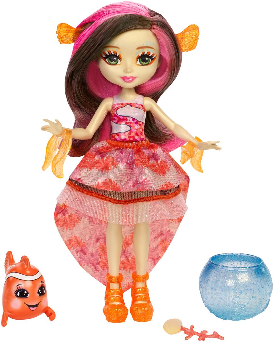 Enchantimals Игровой набор с куклой Морские подружки с друзьями цвет коричневый mattel enchantimals fkv55 морские подружки с друзьями