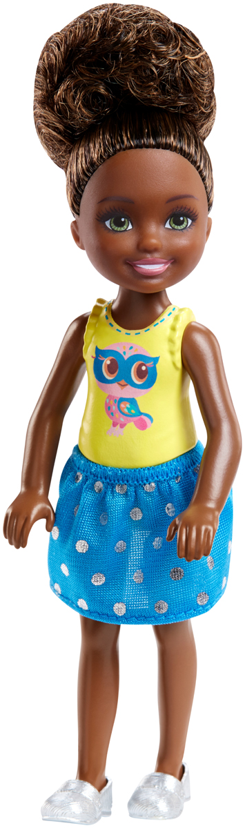 Barbie Мини-кукла Челси с книгой barbie сказочная мини кукла 10 см v7050 blp46