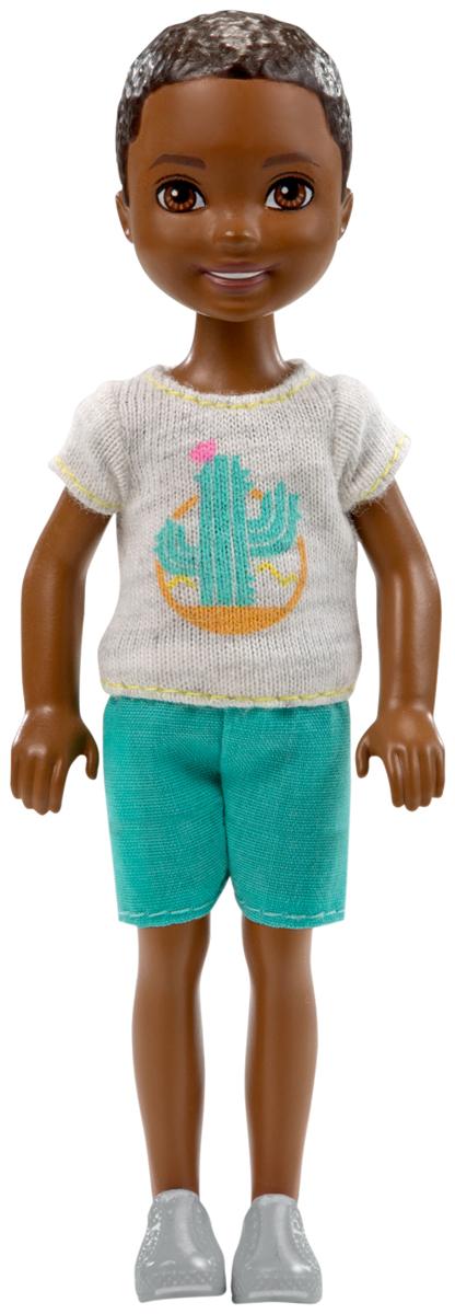 Barbie Мини-кукла мальчик с хомяком simba мини кукла еви в летней одежде цвет розовый