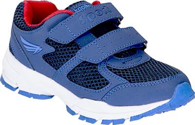 Кроссовки для мальчика Kapika, цвет: темно-синий . 73343-1. Размер 3373343-1