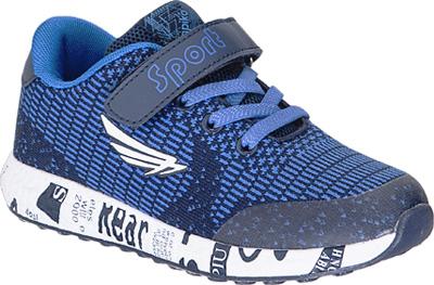 Кроссовки для мальчика Kapika, цвет: темно-синий . 73336-1. Размер 3373336-1