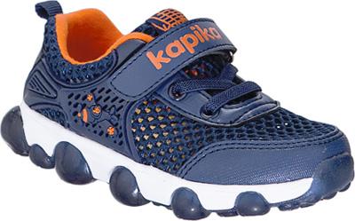 Кроссовки для мальчика Kapika, цвет: темно-синий . 72246-1. Размер 2772246-1