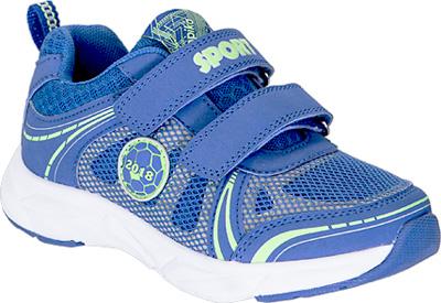 Кроссовки для мальчика Kapika, цвет: синий. 73347-2. Размер 3673347-2Детские кроссовки от Kapika изготовлены из качественной искусственной кожи и текстиля. Ремешки с липучками обеспечивают надежную фиксацию модели на ноге. Внутренняя поверхность из текстиля комфортна при движении. Рифленая подошва обеспечивает хорошее сцепление с поверхностью.