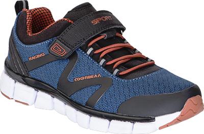 Кроссовки для мальчика Kapika, цвет: синий, оранжевый. 73232с-3. Размер 3573232с-3
