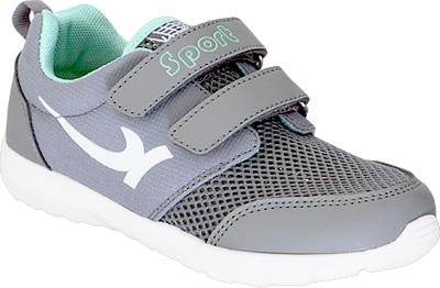Кроссовки для мальчика Kapika, цвет: серый. 73360-2. Размер 3373360-2Детские кроссовки от Kapika изготовлены из качественной искусственной кожи и текстиля. Ремешки с липучками обеспечивают надежную фиксацию модели на ноге. Внутренняя поверхность из текстиля комфортна при движении. Рифленая подошва обеспечивает хорошее сцепление с поверхностью.