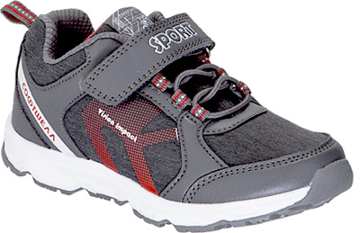 Кроссовки для мальчика Kapika, цвет: серый. 73346с-2. Размер 3373346с-2Детские кроссовки от Kapika изготовлены из качественной искусственной кожи и текстиля. Ремешки с липучками и шнуровка обеспечивают надежную фиксацию модели на ноге. Внутренняя поверхность из текстиля комфортна при движении. Рифленая подошва обеспечивает хорошее сцепление с поверхностью.