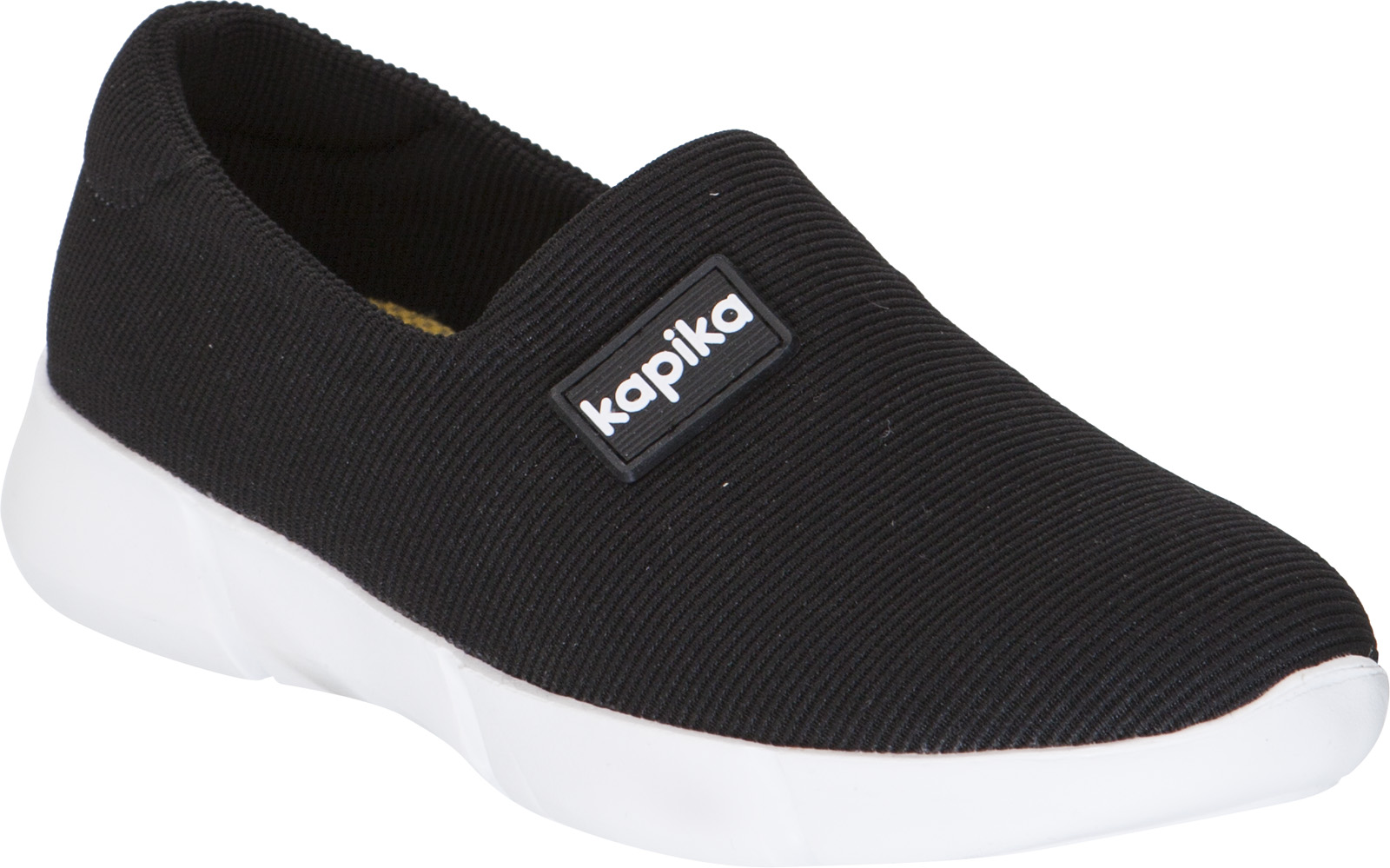 Кроссовки для девочки Kapika, цвет: черный. 73276-5. Размер 3673276-5