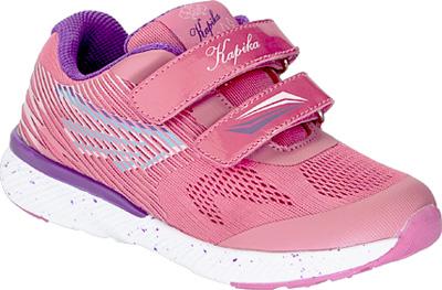 Кроссовки для девочки Kapika, цвет: фуксия. 73367-1. Размер 3273367-1Детские кроссовки от Kapika изготовлены из качественной искусственной кожи и текстиля. Ремешки с липучками обеспечивают надежную фиксацию модели на ноге. Внутренняя поверхность из текстиля комфортна при движении. Рифленая подошва обеспечивает хорошее сцепление с поверхностью.