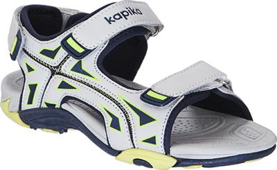 Сандалии для мальчика Kapika, цвет: серый. 83098-1. Размер 35