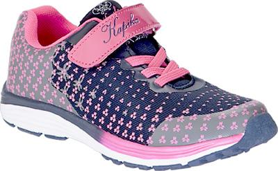 Кроссовки для девочки Kapika, цвет: темно-синий, фуксия. 72252-2. Размер 3172252-2