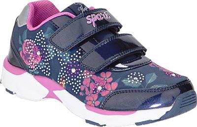 Кроссовки для девочки Kapika, цвет: темно-синий . 73362с-1. Размер 3473362с-1Детские кроссовки от Kapika изготовлены из качественной искусственной кожи и текстиля и оформлены ярким принтом. Ремешки с липучками обеспечивают надежную фиксацию модели на ноге. Внутренняя поверхность из текстиля комфортна при движении. Рифленая подошва обеспечивает хорошее сцепление с поверхностью.