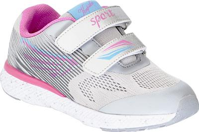 Кроссовки для девочки Kapika, цвет: серый. 73367-3. Размер 3473367-3