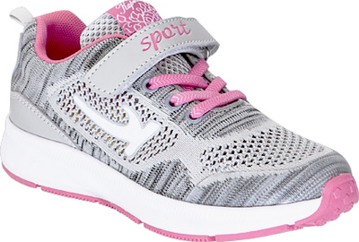 Кроссовки для девочки Kapika, цвет: серый. 73334-1. Размер 3373334-1