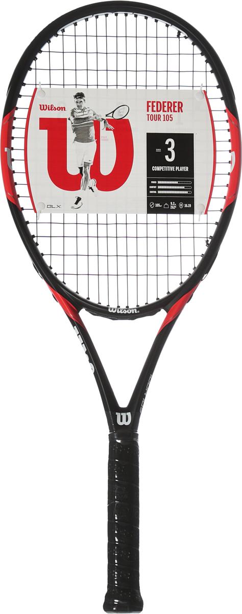 Ракетка теннисная Wilson  Federer Tour Tns Rkt W/O Cvr 3  - Ракеточные виды спорта