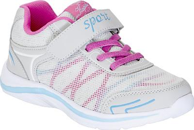Кроссовки для девочки Kapika, цвет: серый. 72215-4. Размер 3072215-4