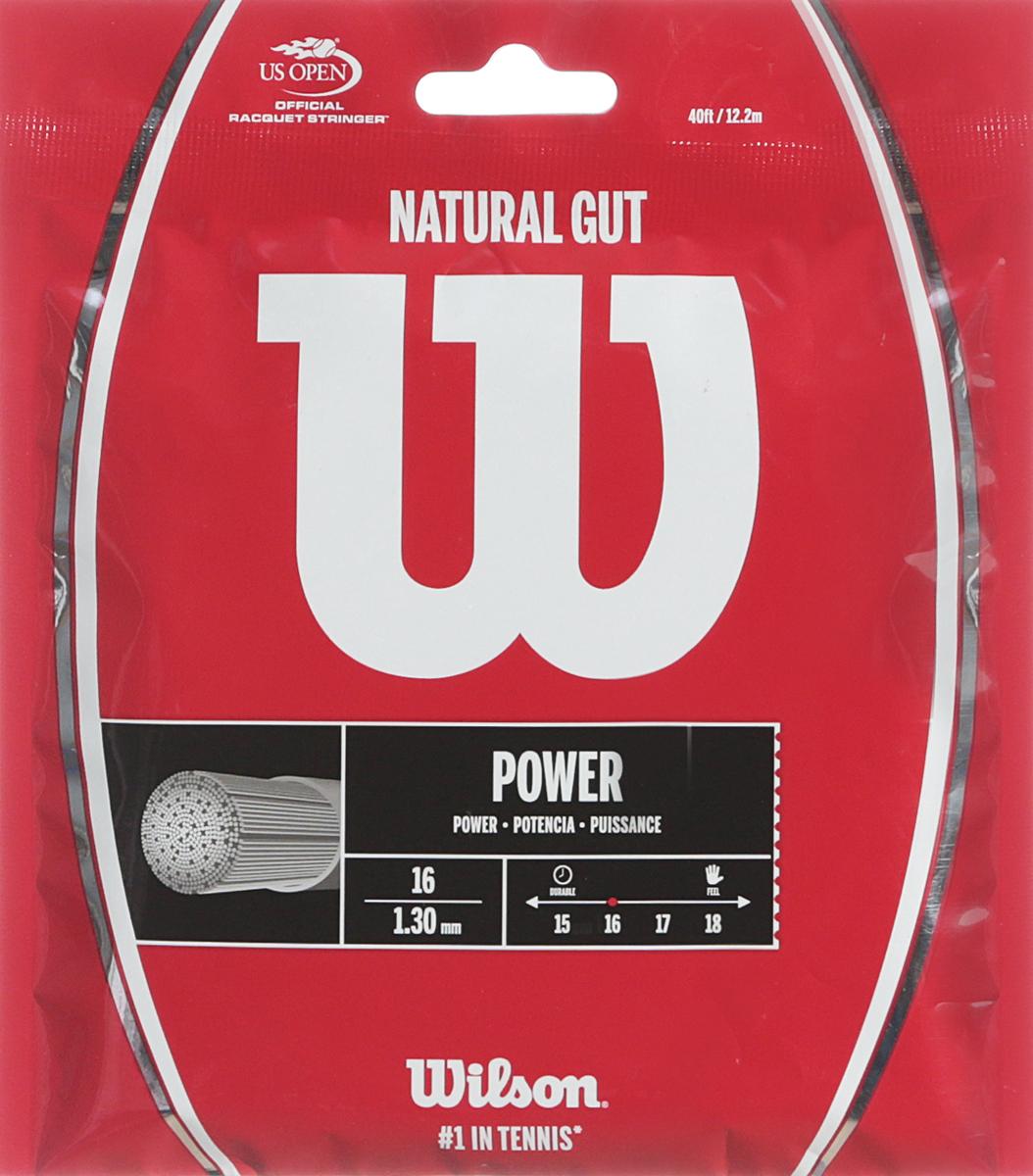 Комплект струн для ракетки Wilson Natural Gut 16