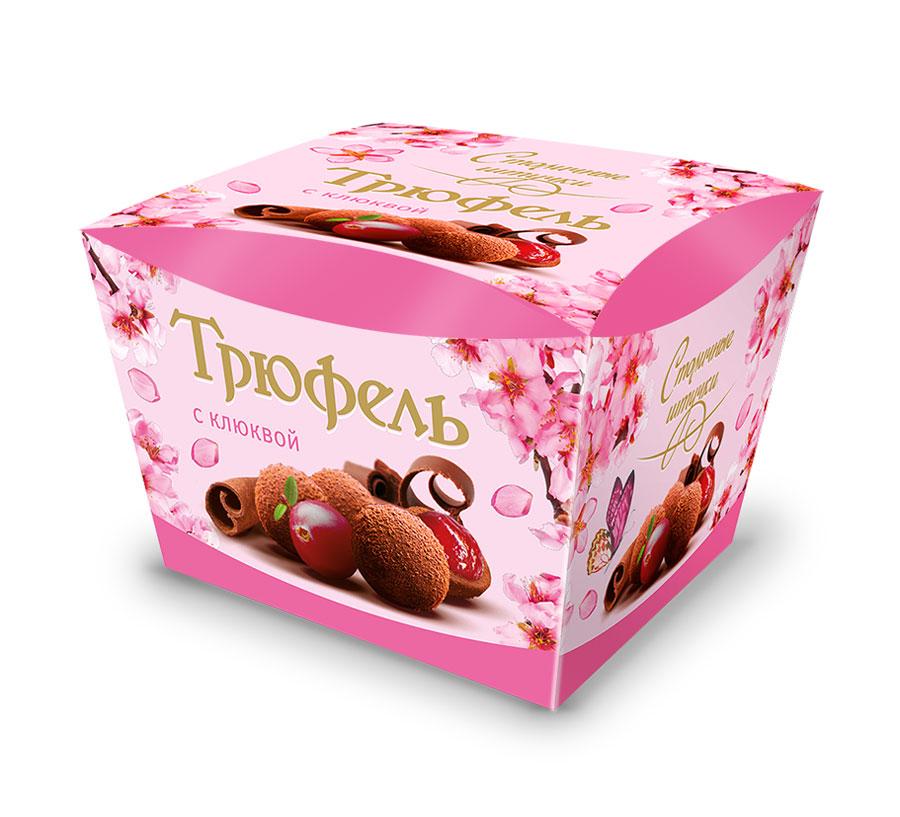 Столичные штучки Трюфель с клюквой драже, 150 г столичные штучки конфеты  шоколадные мусс капучино 104 b2222867568