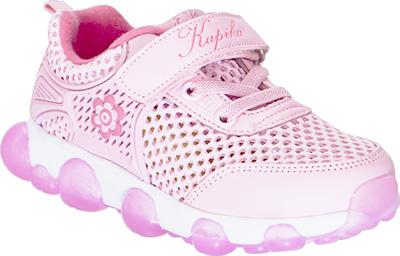 Кроссовки для девочки Kapika, цвет: розовый. 72246-2. Размер 2872246-2