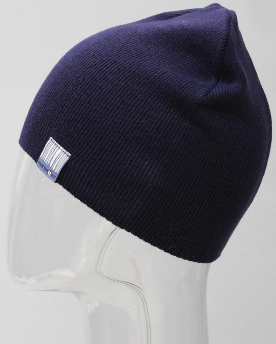 Шапка для мальчика Marhatter, цвет: темно-синий. MTH8193. Размер 55/56MTH8193Стильная однотонная шапка Marhatter выполнена из мягкого и качественного материала. Уважаемые клиенты!Размер, доступный для заказа, является обхватом головы.