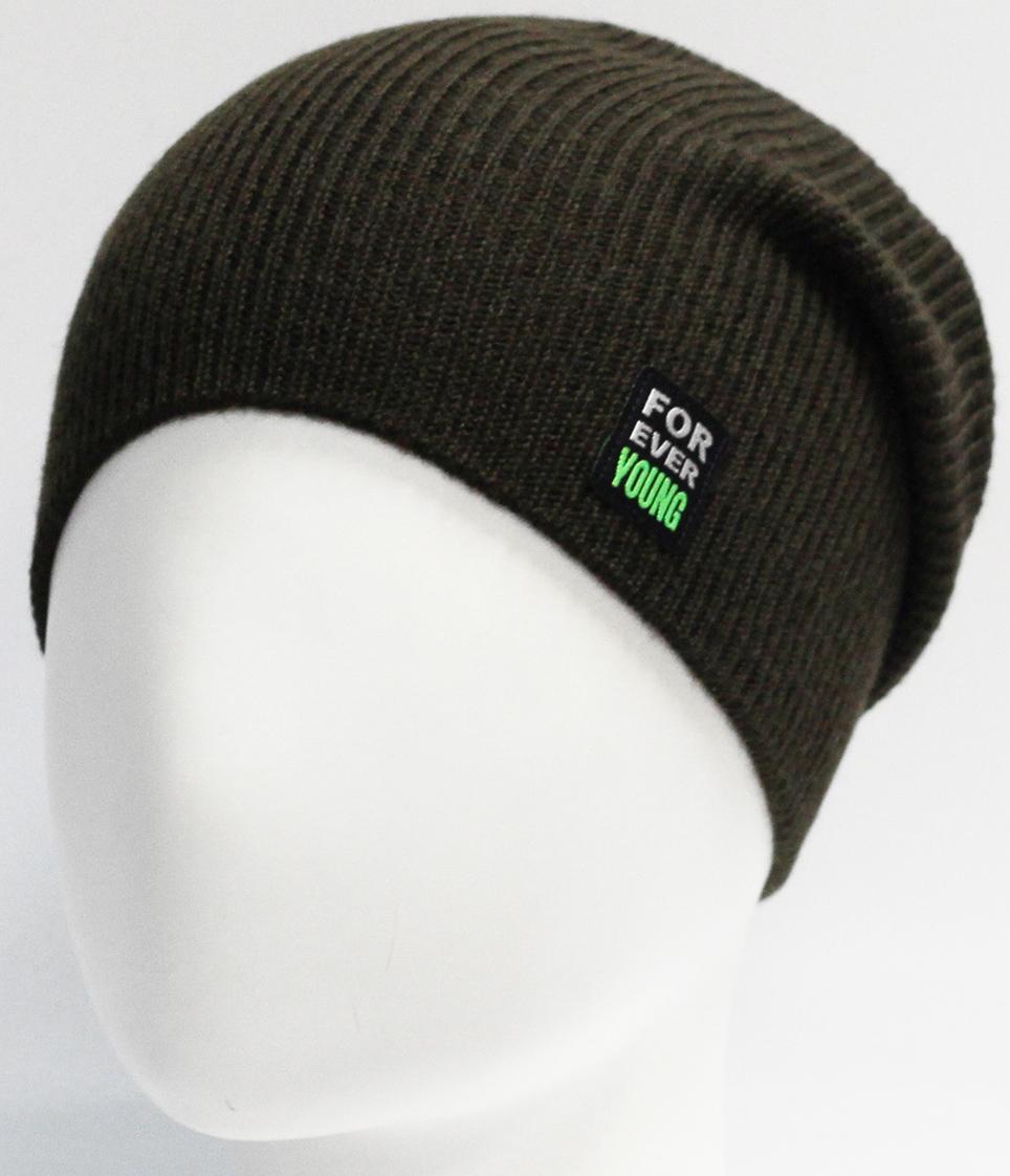 цены Шапка для мальчика Marhatter, цвет: зеленый. MTH7434. Размер 55/56