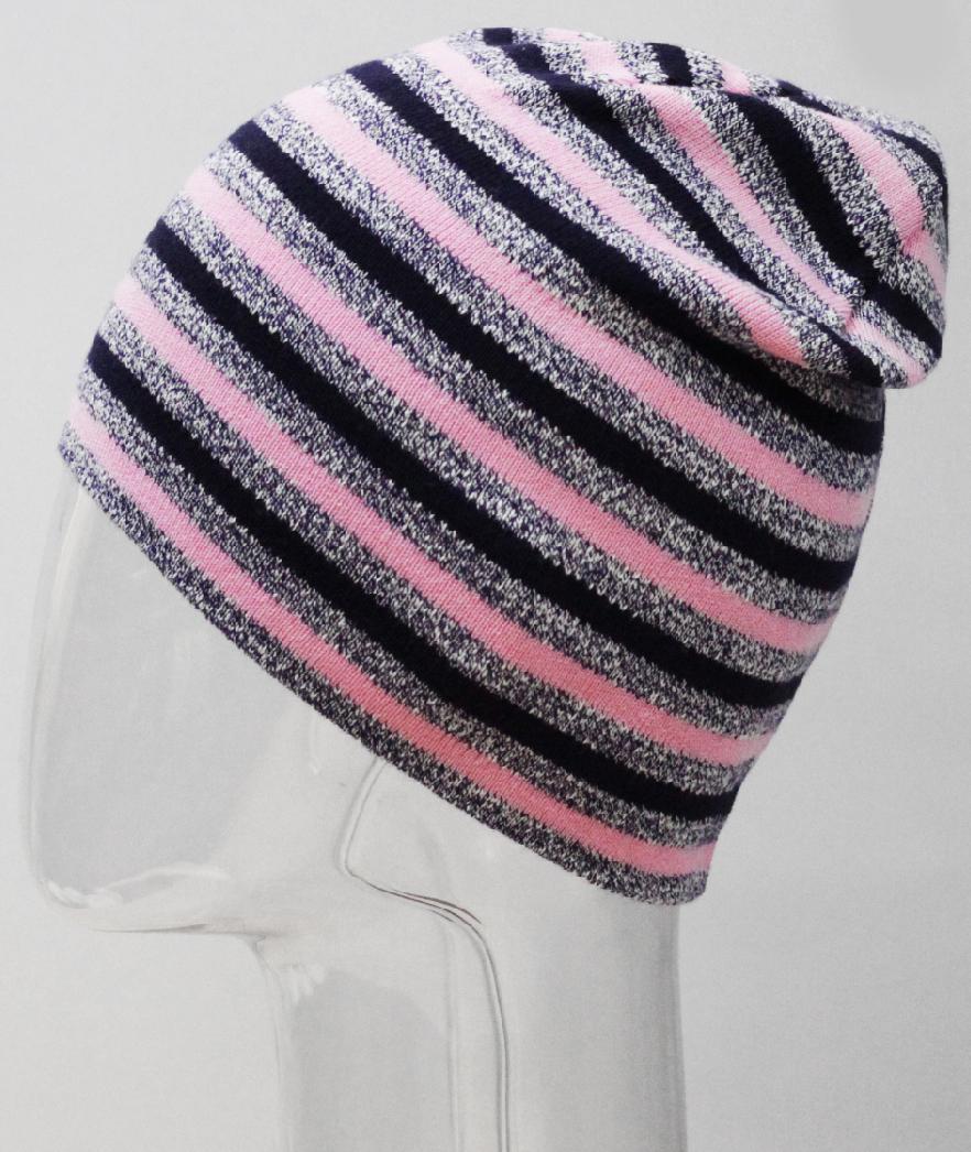 Шапка для девочки Marhatter, цвет: темно-серый. MFH8234. Размер 55/56