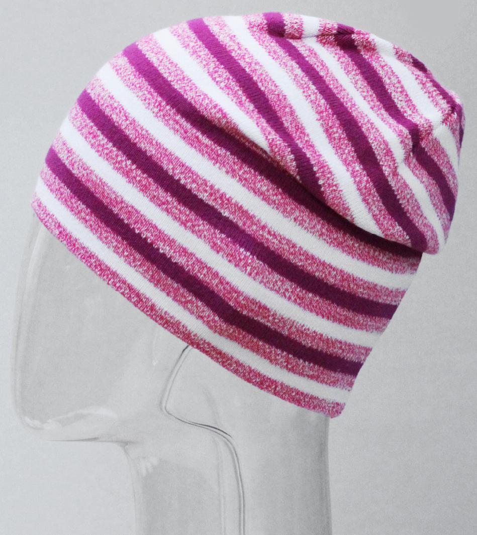 Шапка для девочки Marhatter, цвет: розовый. MFH8234. Размер 55/56MFH8234Стильная шапка для маленьких модниц.