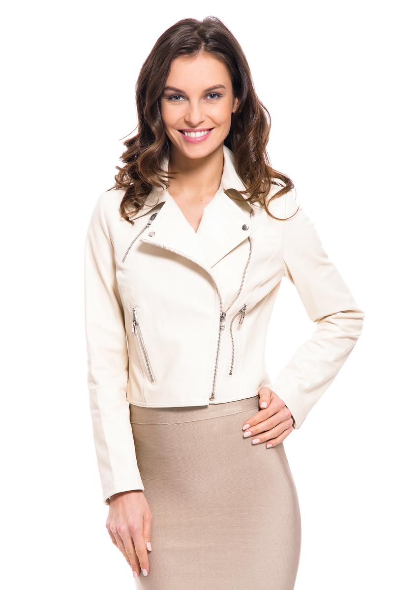 Куртка женская Lusio, цвет: бежевый. SS18-050003. Размер S (42/44)SS18-050003