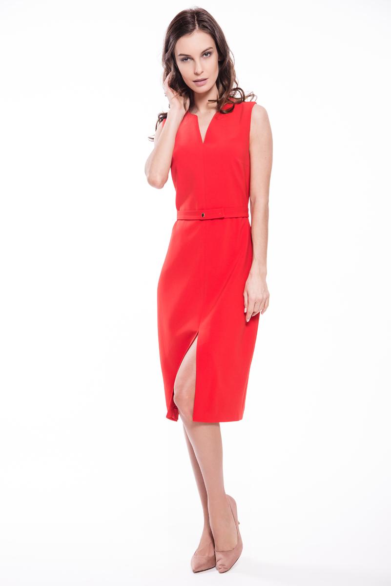 Платье Lusio, цвет: красный. SS18-020066. Размер XS (40/42) платье lusio lusio lu018ewubt88