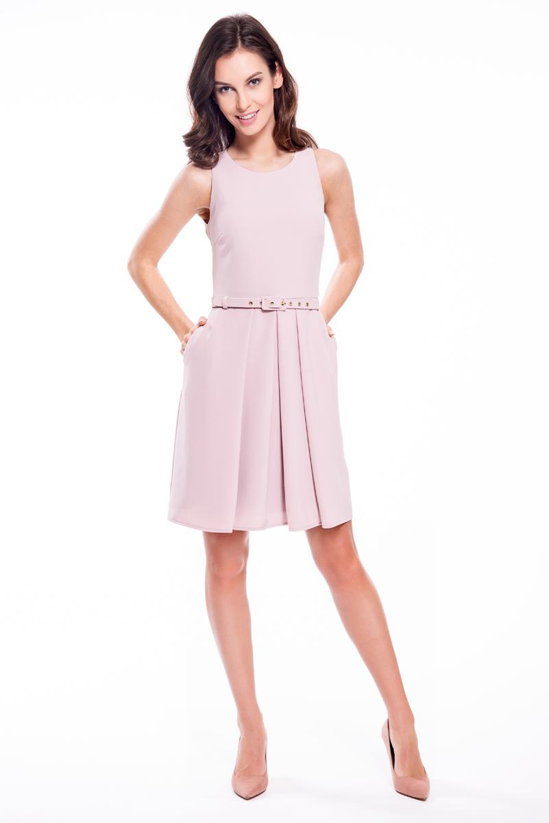 Платье Lusio, цвет: розовый. SS18-020055. Размер XS (40/42) платье lusio цвет сиреневый ss18 020223 размер xs 40 42