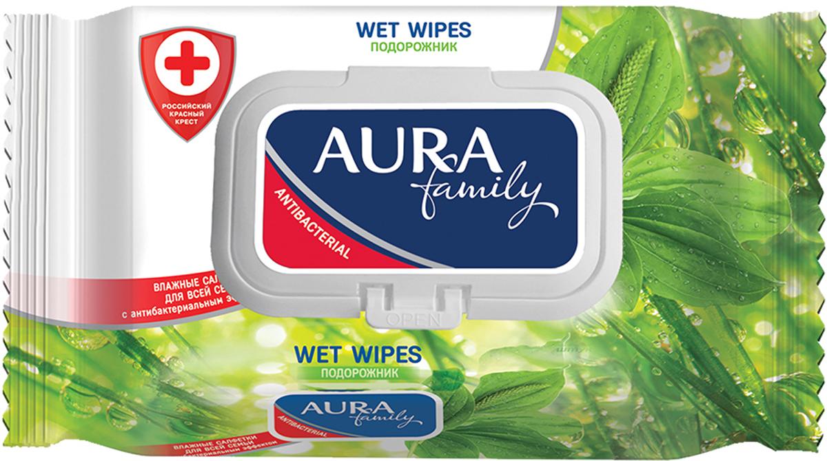 Aura Влажные салфетки для всей семьи с антибактериальным эффектом Family, 120 штARA-6569Влажные салфетки очищают и смягчают кожу, обеспечивая дополнительную защиту от бактерий. Не содержат спирта. Практичны и удобны в применении.Уважаемые клиенты! Обращаем ваше внимание на то, что упаковка может иметь несколько видов дизайна. Поставка осуществляется в зависимости от наличия на складе.