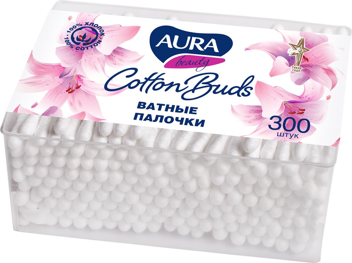 Aura Beauty Ватные палочки стакан квадратный, 300 штARA-7355Вата плотно намотана, хорошо закреплена, не соскальзывает со стика. Не оставляют волокон ваты на коже. Отличная впитываемость. Изготовлены из 100% хлопка.
